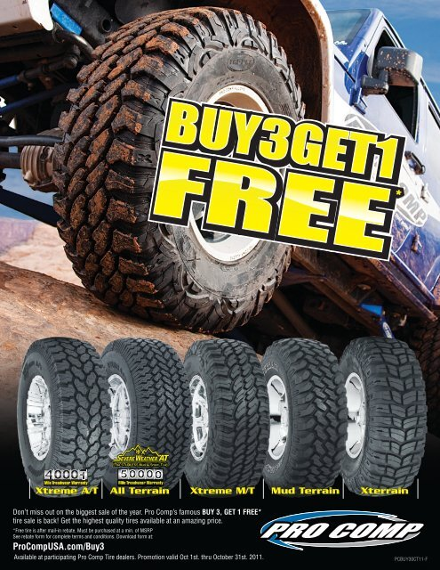 Buy 3 Get 1 Free Tires >> Xtreme A T All Terrain Xtreme M T Mud Terrain