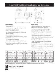 Ross In-Line Series 700 Mixer - Fluid Energy