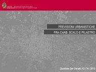 scarica la presentazione - Urban Center