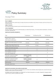 Liability Insurance - RL Davison