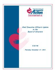 November CEO Update - Community Action Partnership of San Luis ...