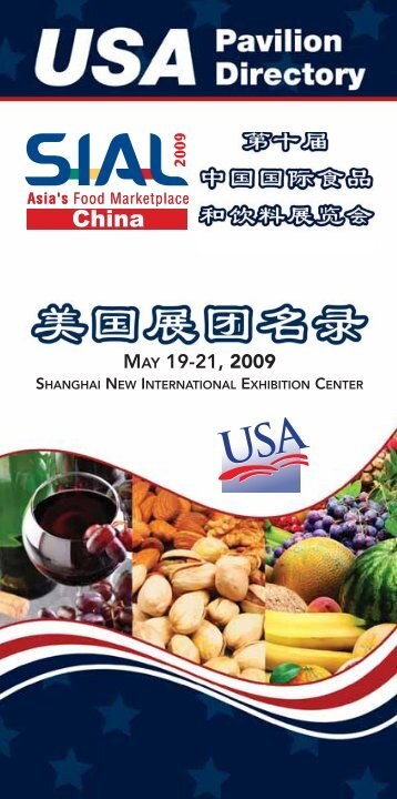 MAY 19-21, 2009 - American Food and Ag Exporter