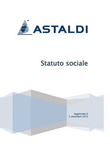 Statuto sociale - Borsa Italiana