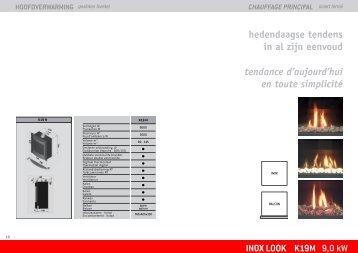 INOX LOOK K19M 9,0 kW hedendaagse tendens in al ... - Well Straler