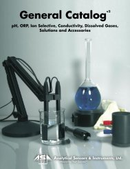 Download Catalog - Analytical Sensors, Inc.