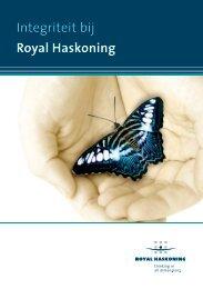 Integriteit bij Royal Haskoning