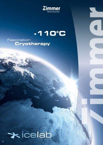 110 °C for whole body cryotherapy - LCRhea