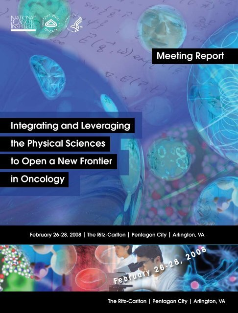 Download Workshop Report - Office of Physical Sciences Oncology