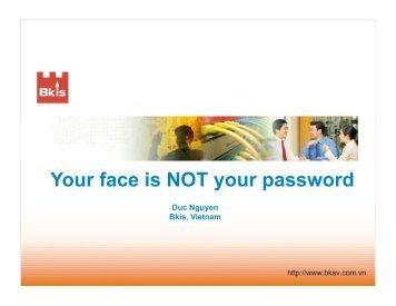 BlackHat-DC-09-Nguyen-Face-not-your-password-slides