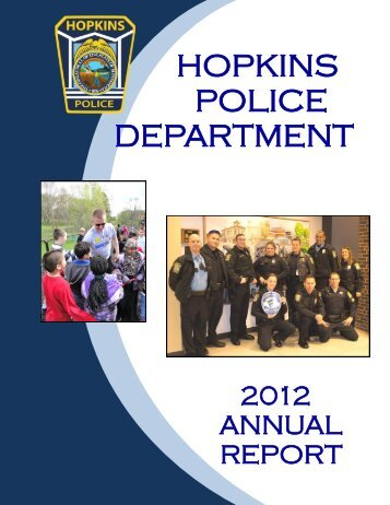 Police Department 2012 Annual Report - City of Hopkins