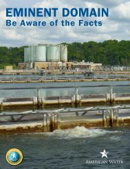 Eminent Domain Fact Sheet - American Water