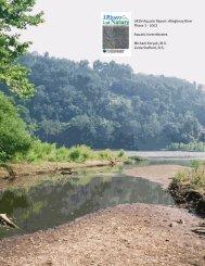 Allegheny Invertebrate Report - 3 Rivers 2nd Nature