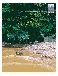 Aquatic Invertebrate Biological Assessments Report - 3 Rivers 2nd ...