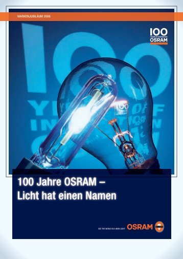 100 Jahre OSraM - Siemens