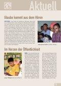 Aber die Elenden werden das Land erben und ihre ... - Weltbibelhilfe - Seite 5
