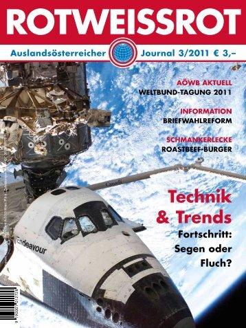 wahlrecht 2011 - Auslandsösterreicher-Weltbund