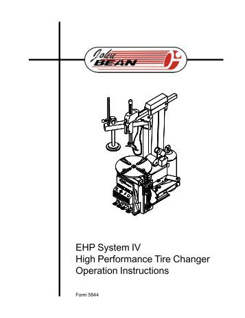 Automatic Tilt-Column Tire Changer