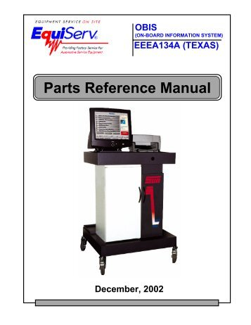 parts reference manual snap on equipment rh yumpu com Snap-on Equipment Services Snap-on Equipment Sales