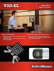 V3D-EL - Snap-on Equipment