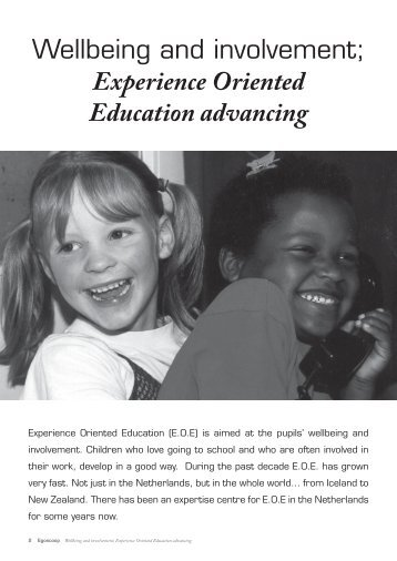 Wellbeing and involvement; Experience Oriented Education ...