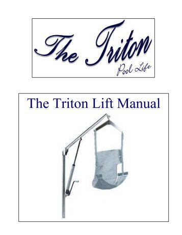 Triton cet manual boylan group the triton lift manual planet mobility publicscrutiny Choice Image