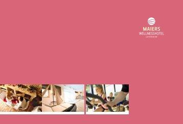 Download Folder - Wellnesshotel  Loipersdorf