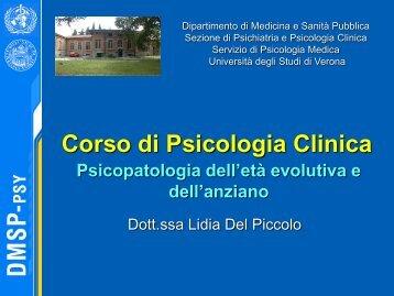 File lezione 10 (pdf, it, 2404 KB, 6 - Università degli Studi di Verona