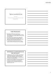 Slides Lezione III (pdf, it, 29 KB, 4/5/12)
