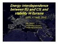 Oil exports - Energy Center - EPFL