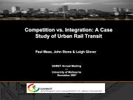 Competition versus integration, a case study of urban - Faculty of ...