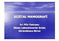 DİJİTAL MAMOGRAFİ - Düzen Laboratuvarlar Grubu