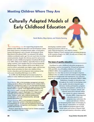 models in early childhood education Tips for involving fathers in a child's education parent involvement in schools has traditionally been carried out by mothers yet boys and girls need positive.