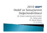 LabPT Geleneksel Yıllık Değerlendirme - Düzen Laboratuvarlar Grubu