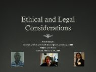 Ethical and Legal Issues in Supervision PPT Presentation