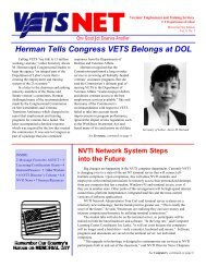 Herman Tells Congress VETS Belongs at DOL - National Veterans ...