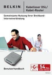 Kabelloser DSL/ Kabel-Router
