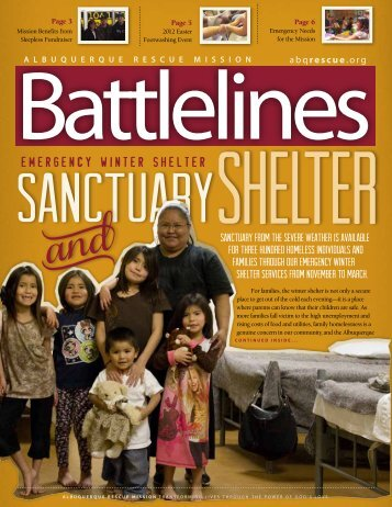 Battlelines February 2012 PDF - Albuquerque Rescue Mission