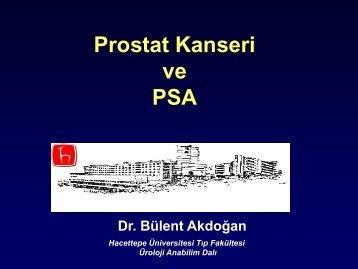 Prostat Kanseri ve PSA