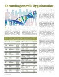 Farmakogenetik Uygulamalar - Düzen Laboratuvarlar Grubu