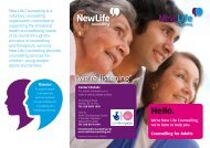 Hello. - New Life Counselling