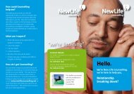 Relationship Breakdown - New Life Counselling