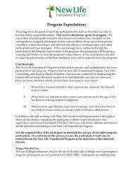 NLTP Expectations - Arizona Baptist Children's Services
