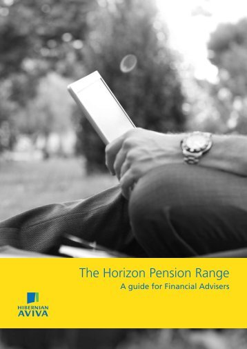 The Horizon Pension Range - Best Advice