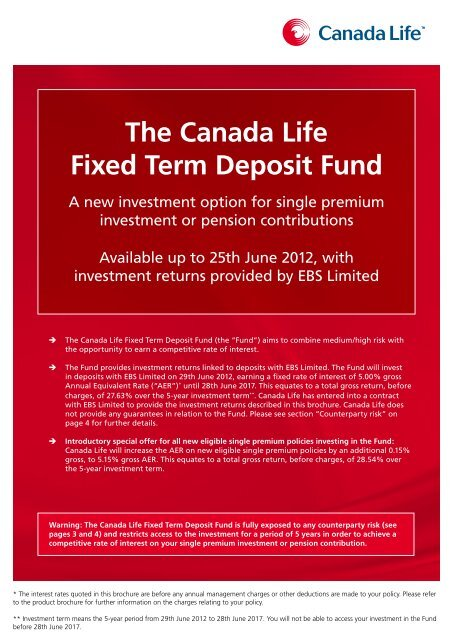 Investment return rates canada investment banking interview questions lbot