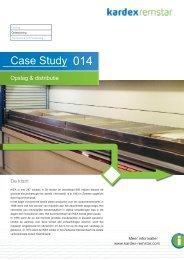 Case Study 014 - Kardex Remstar