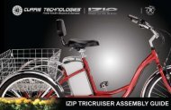 Tricruiser assembly guide - Currie Technologies