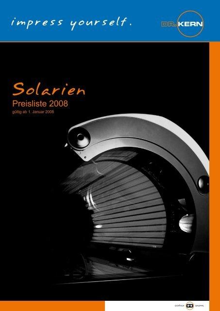 Solarien - Wellness-Edition.com
