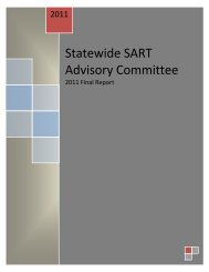 Statewide SART Advisory Committee - Florida Council Against ...