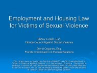 View Employment and Housing Law for Sexual Violence Victims ...