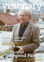 January 2013 Visionary - International Guide Dog Federation